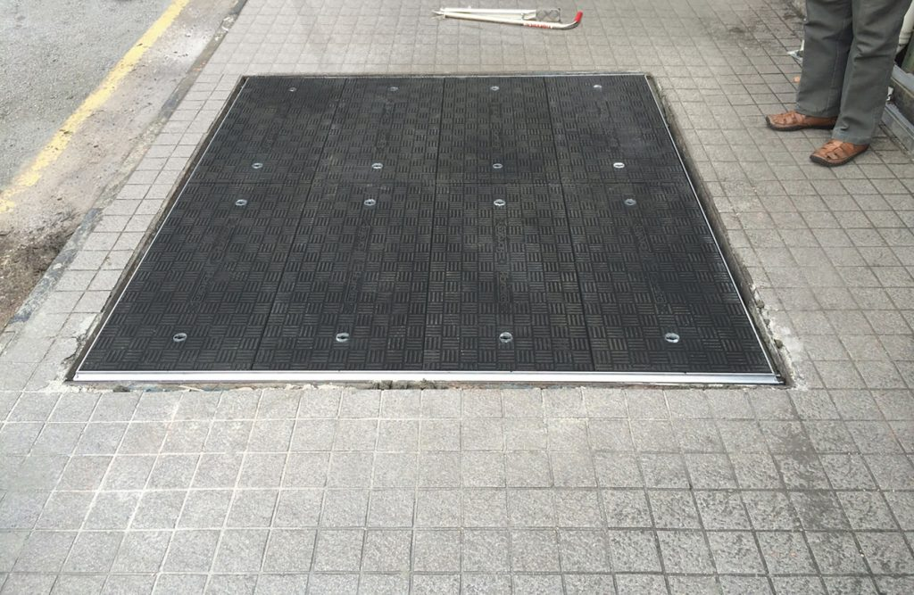 Bespoke Fibrelite trench covers