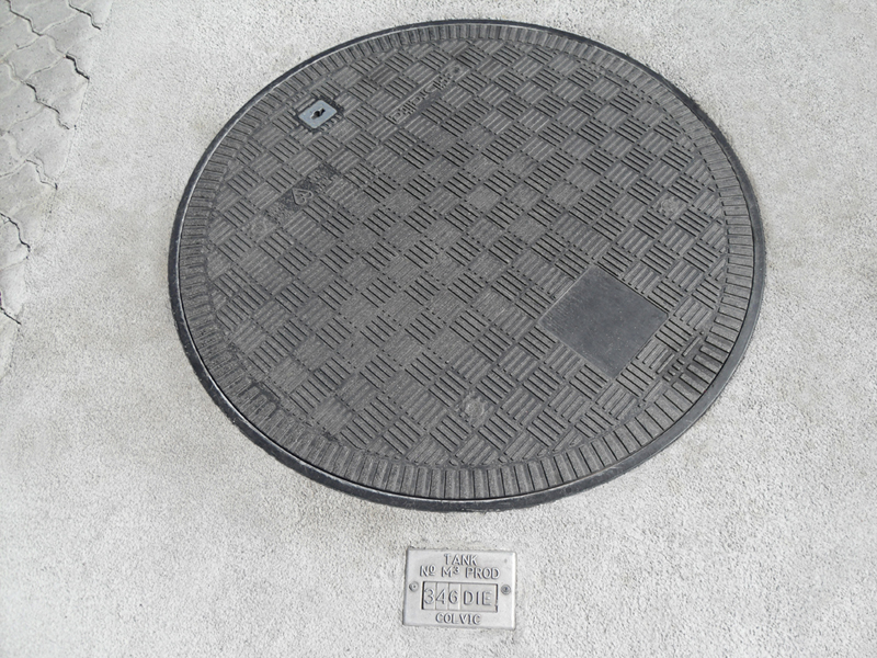 """900mm (36"""") Fibrelite cover (FL 90) with 40 tonne load rating"""