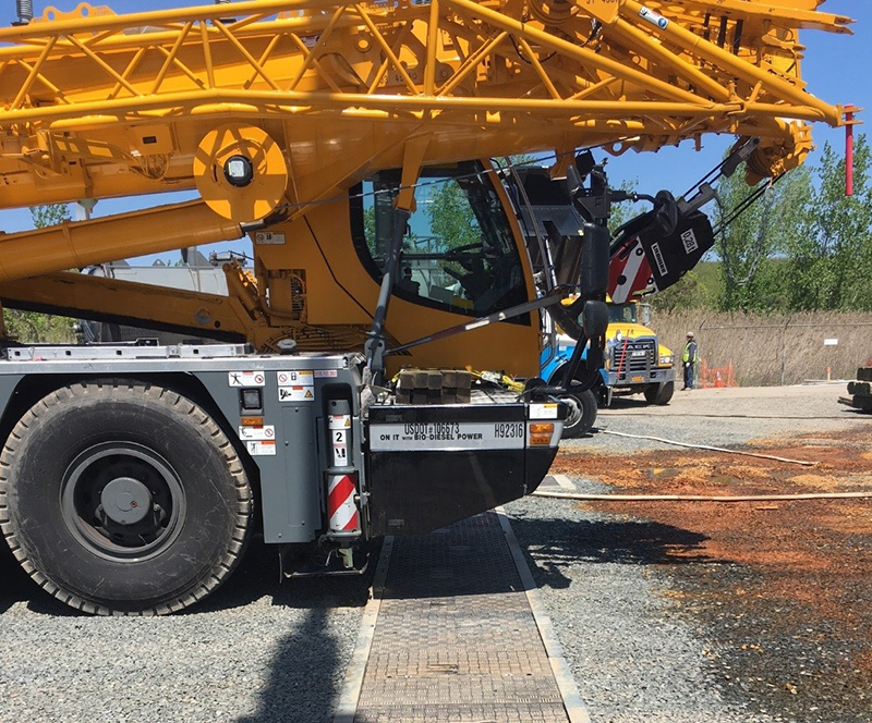 Fibrelite Trench Covers Can Withstand Heavy Loads