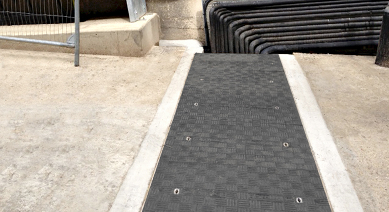 Fibrelite's trench covers available in various depths, widths and sizes