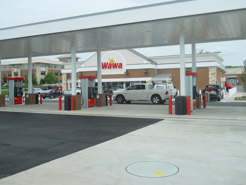 New WAWA site in Pennsylvania