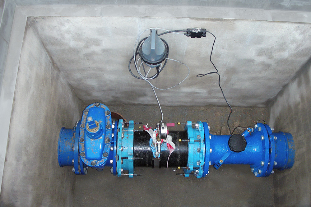 Underground water monitoring system. Photo credit: Aguas de Cádiz
