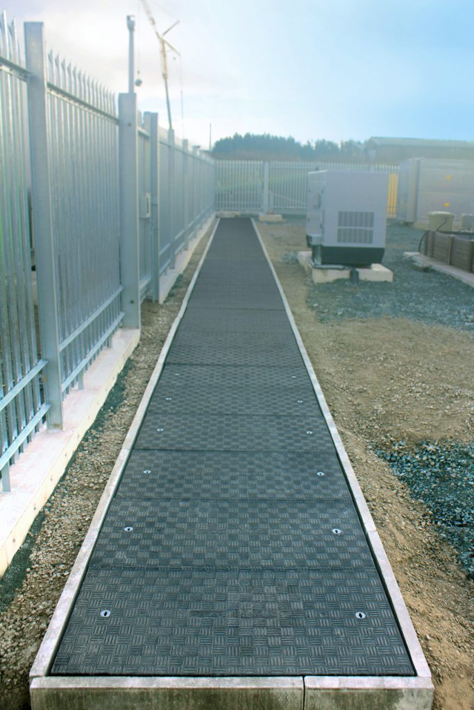 25 metre long pre-cast concrete trench with 1250mm span