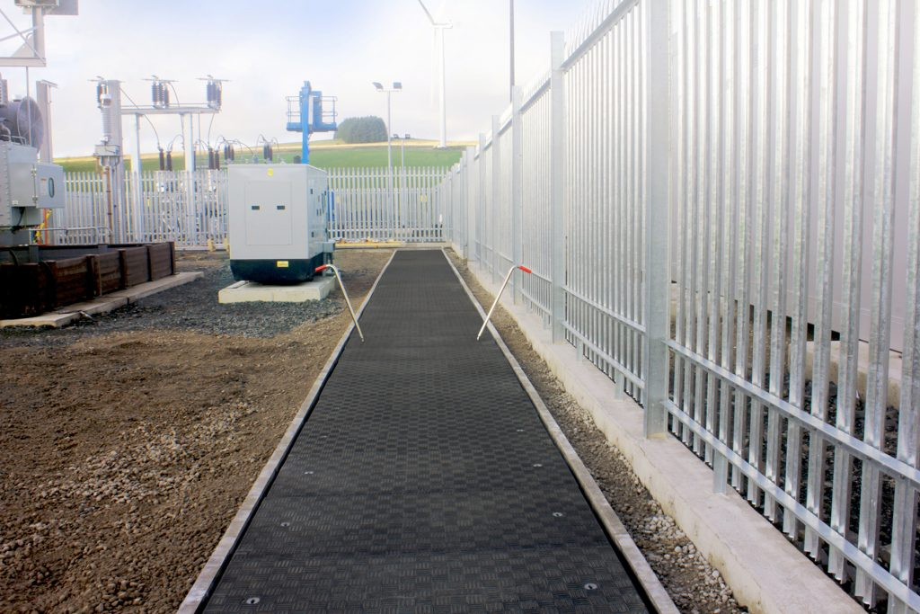 Bespoke Fibrelite trench covers 1250mm span