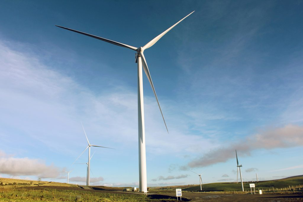 The wind farm will be capable of providing renewable electricity to meet the average needs of more than 26,000 homes.