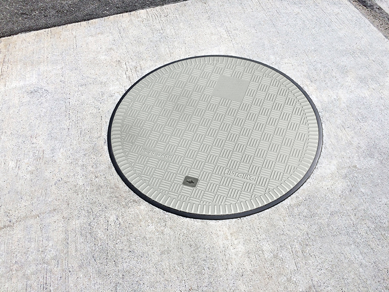 Fibrelite tread pattern provided the perfect slip resistance required