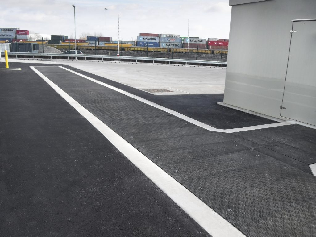 Fibrelite covers have sufficient anti-slip properties to ensure safety