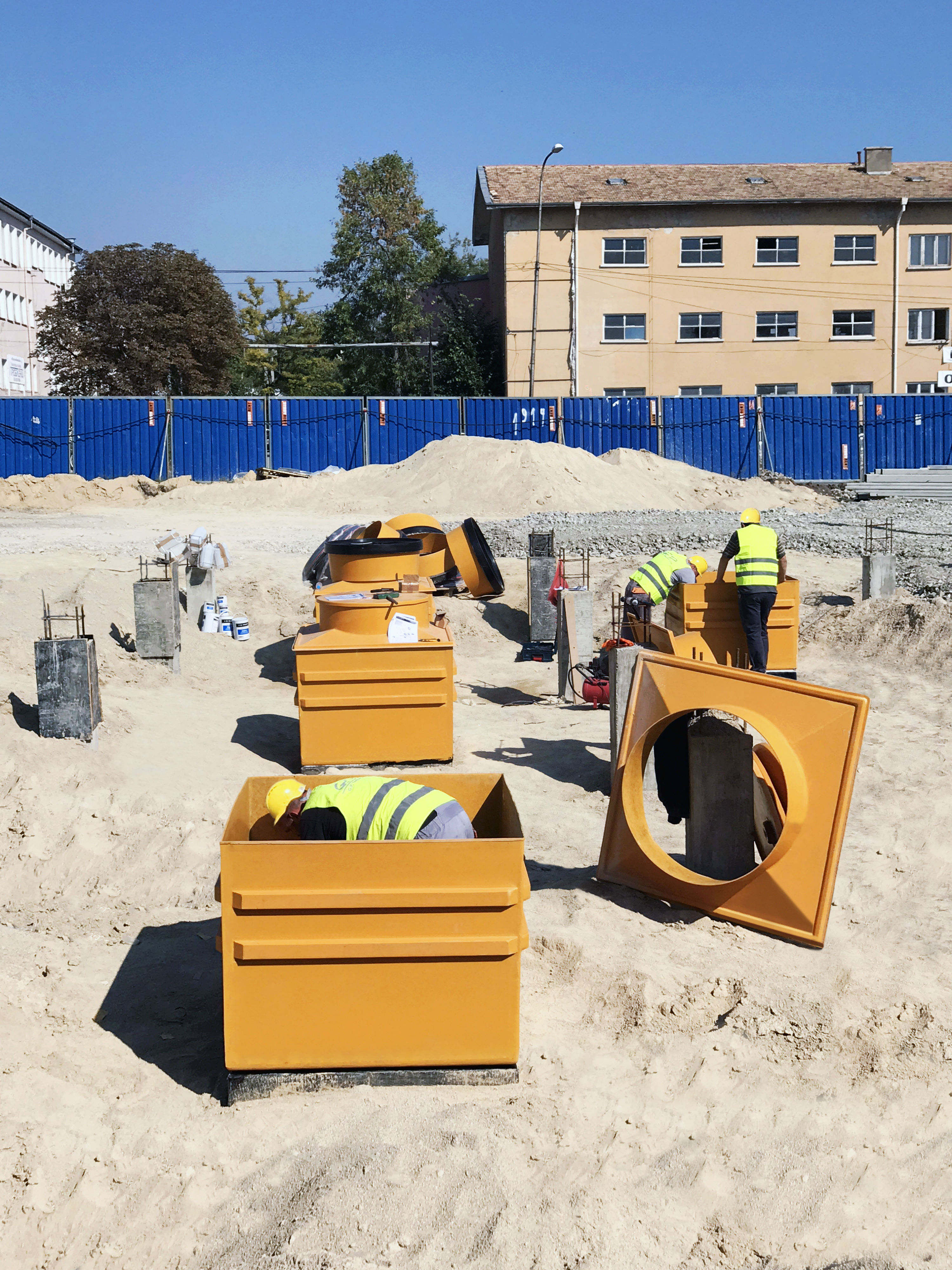 Technical support and installation training was required on site to complete the project within its tight timescale