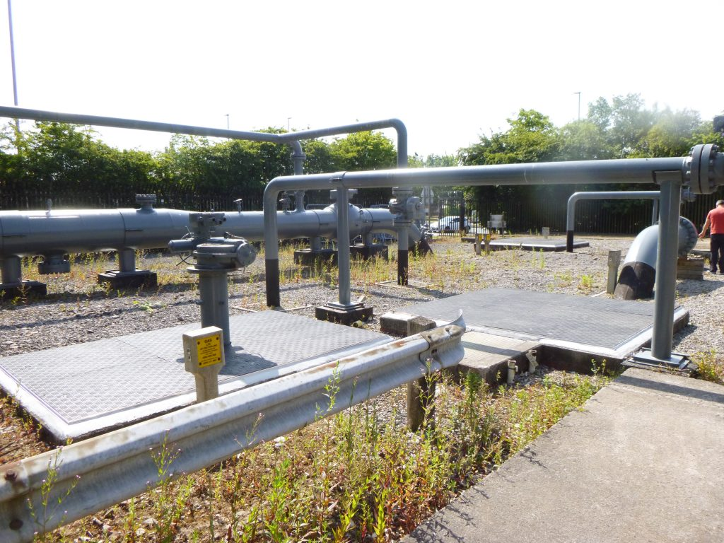 Cadent Gas Valve Pits, North West England