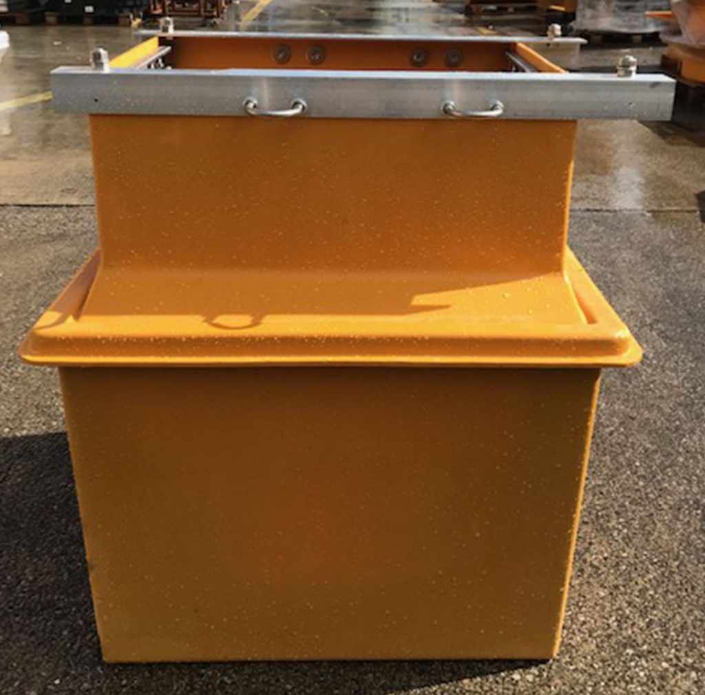 All sumps are vacuum tested before dispatch