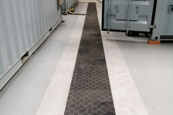 Fibrelite's trench access covers will not deform under heavy loads
