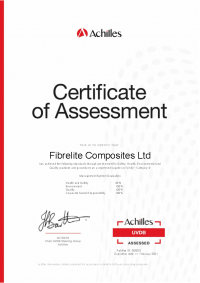 Achilles Certificate of Assessment