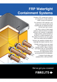 Fibrelite Industrial Sumps Brochure US