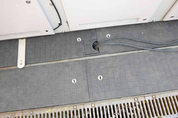 Fibrelite provided a retrofit solution which could be installed directly into the existing framework and provide the necessary interchangeable cable outlet arrangement without having to modify the Fibrelite covers