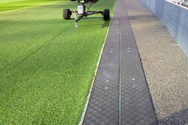 Fibrelite covers have an anti-skid surface, effective when wet or dry