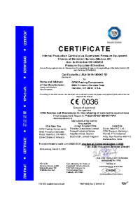 TUV Certificate (Full Document Available Upon Request)