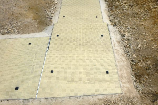 Fibrelite custom manufactured trench covers in a colour that blended in with their surroundings