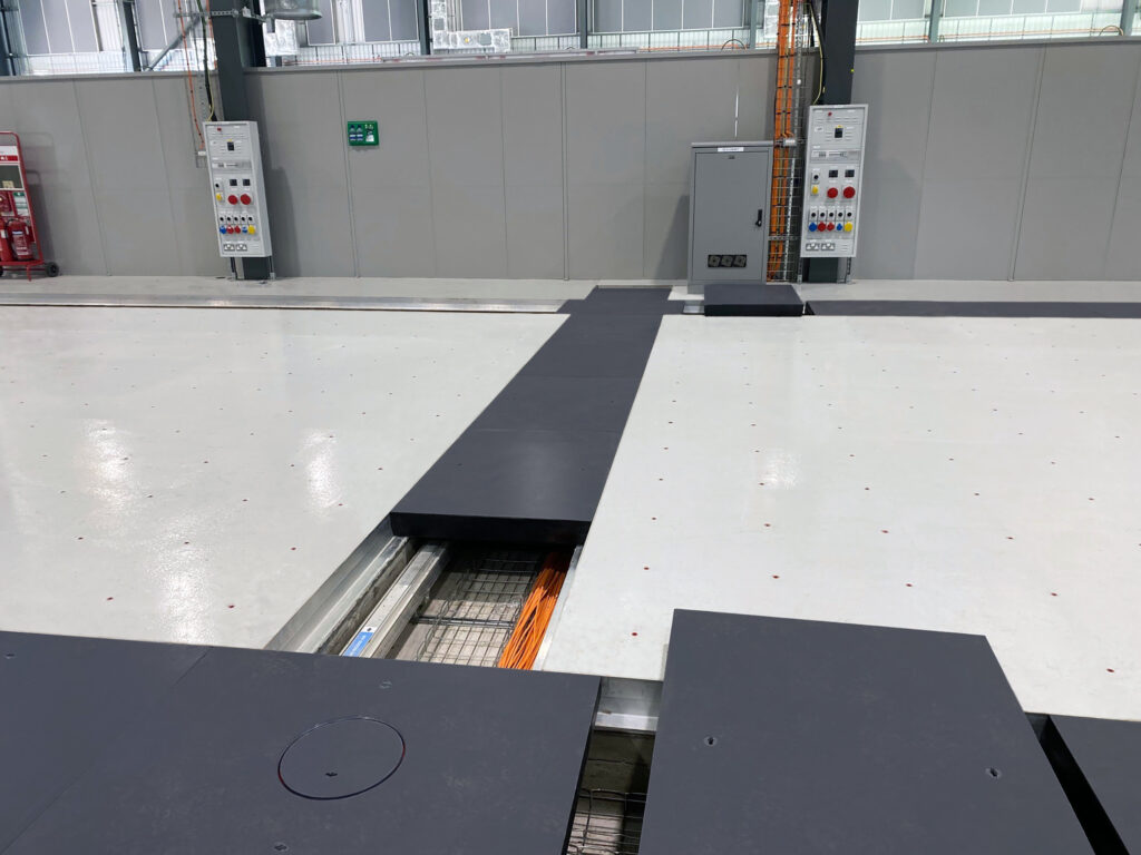 Fibrelite covers moulded without the tread pattern per customer request